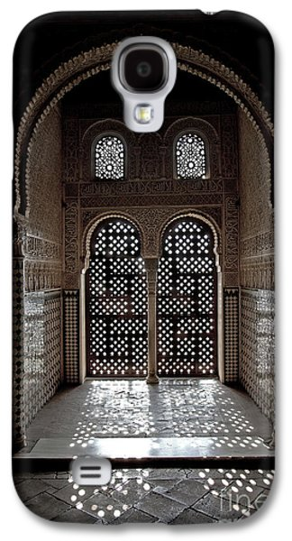 Best Sellers -  - Ancient Galaxy S4 Cases - Alhambra window Galaxy S4 Case by Jane Rix