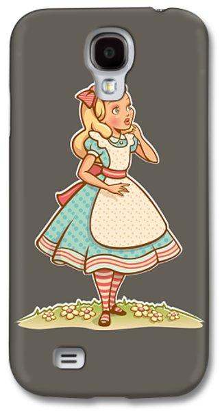 Alice Galaxy S4 Case by Elizabeth Taylor