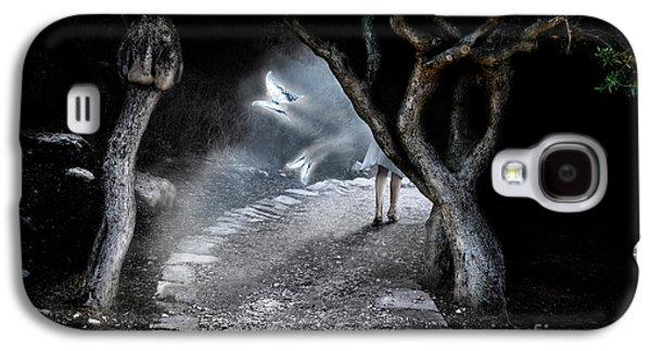 Fantasy Photographs Galaxy S4 Cases - Alice in Wonderland Galaxy S4 Case by Oleksiy Maksymenko