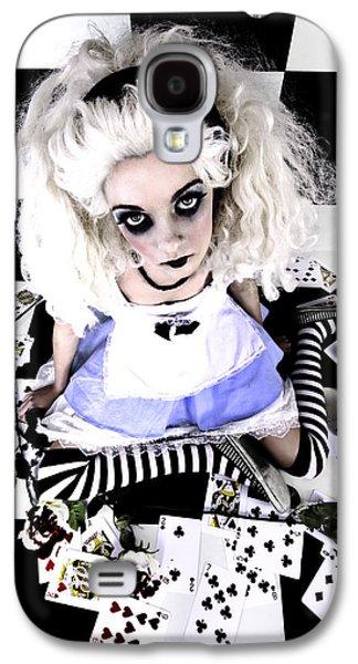 Alice In Wonderland Galaxy S4 Cases - Alice1 Galaxy S4 Case by Kelly Jade King