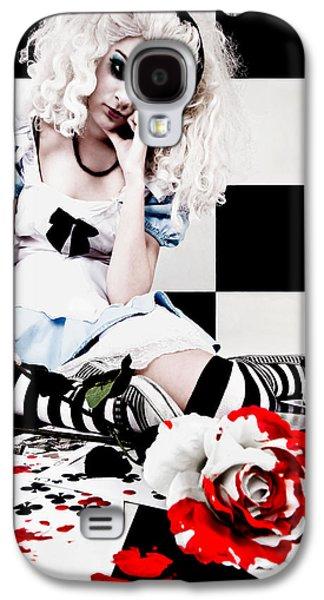 Alice In Wonderland Galaxy S4 Cases - Alice2 Galaxy S4 Case by Kelly Jade King