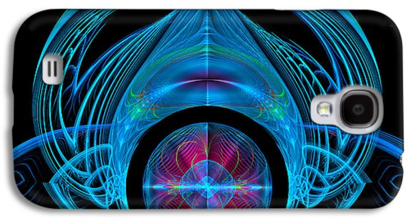 Dogs Digital Art Galaxy S4 Cases - Alien Dog Thing Galaxy S4 Case by Jane Spaulding