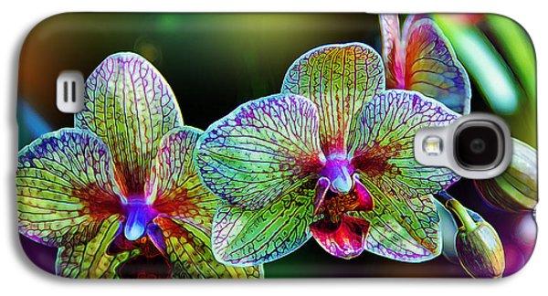 Alien Orchids Galaxy S4 Case by Bill Tiepelman