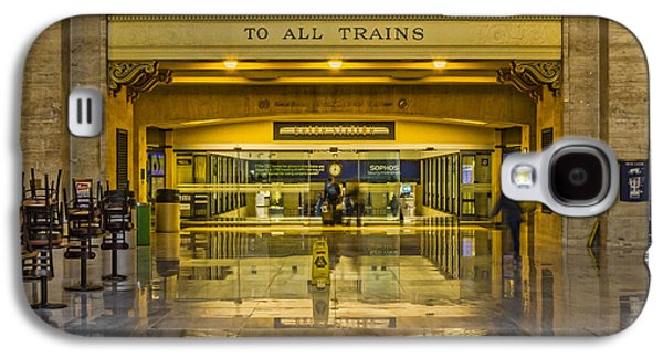 Transportation Photographs Galaxy S4 Cases - All Aboard Galaxy S4 Case by Lindley Johnson