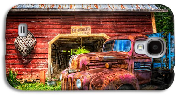 Landmarks Photographs Galaxy S4 Cases - All American Ford Galaxy S4 Case by Debra and Dave Vanderlaan
