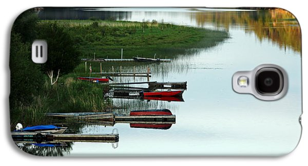 Waterscape Galaxy S4 Cases - All Is Calm Galaxy S4 Case by Debbie Oppermann