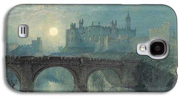 Alnwick Castle Galaxy S4 Case by Joseph Mallord William Turner