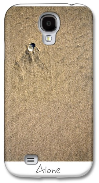 California Beach Art Galaxy S4 Cases - Alone Galaxy S4 Case by Peter Tellone