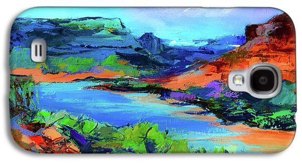 Along Colorado River - Utah Galaxy S4 Case by Elise Palmigiani