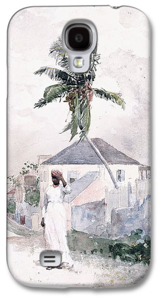 Along The Road   Bahamas 1885 Galaxy S4 Case by Winslow Homer