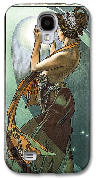 Ancient Galaxy S4 Cases - Alphonse Mucha - North Star Galaxy S4 Case by Pablo Romero
