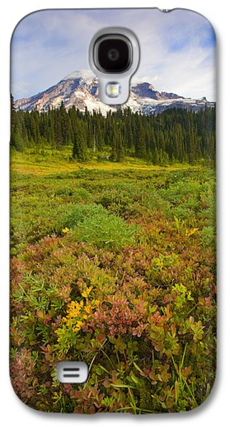 Landscapes Photographs Galaxy S4 Cases - Alpine Meadows Galaxy S4 Case by Mike  Dawson