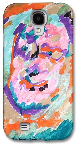Psychiatry Paintings Galaxy S4 Cases - Alter Ego Galaxy S4 Case by Esther Newman-Cohen
