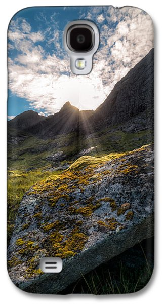 Mountain Valley Galaxy S4 Cases - Always sunny in Lofoten Galaxy S4 Case by Tor-Ivar Naess