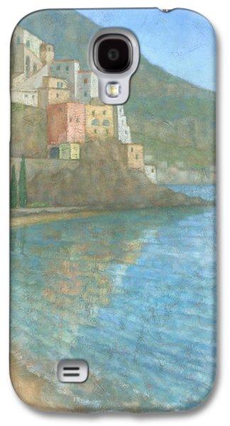 Mediterranean Landscape Galaxy S4 Cases - Amalfi Galaxy S4 Case by Steve Mitchell