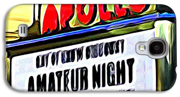 Amateur Night Galaxy S4 Case by Ed Weidman