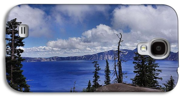 Landscapes Photographs Galaxy S4 Cases - Amazing Crater Lake Galaxy S4 Case by Patricia Strand