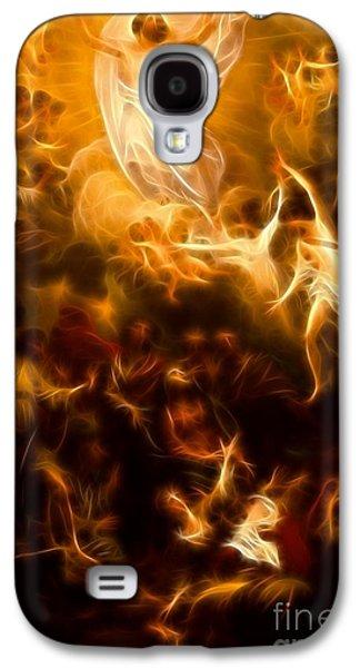 The Church Mixed Media Galaxy S4 Cases - Amazing Jesus Resurrection Galaxy S4 Case by Pamela Johnson