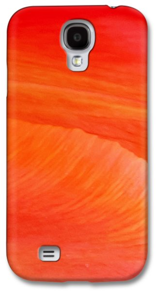 Vision Galaxy S4 Cases - Amber Moods Galaxy S4 Case by Az Jackson