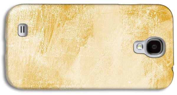 Amber Waves Galaxy S4 Case by Linda Woods
