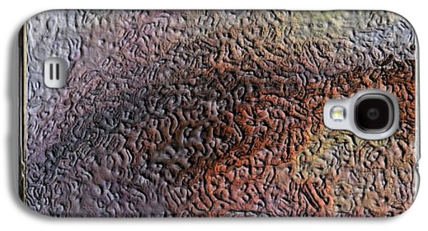 Modern Abstract Reliefs Galaxy S4 Cases - Ambra Galaxy S4 Case by Stefano Cenzolo