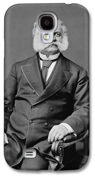 Politician Galaxy S4 Cases - Ambrose Burnside and His Sideburns Galaxy S4 Case by War Is Hell Store