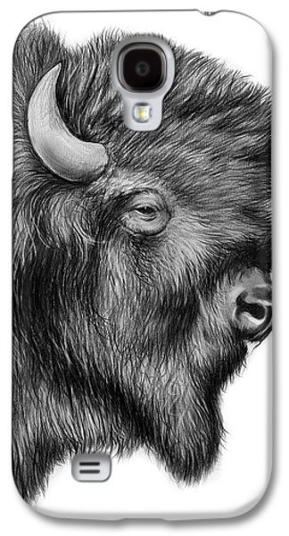 American Bison Galaxy S4 Case by Greg Joens