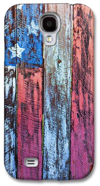 American Flag Gate Galaxy S4 Case by Garry Gay