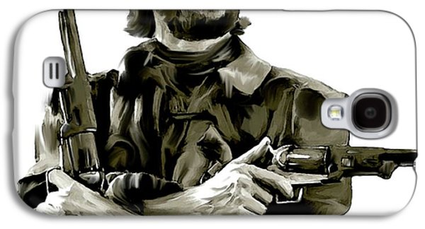 American Outlaw V Clint Eastwood Galaxy S4 Case by Iconic Images Art Gallery David Pucciarelli