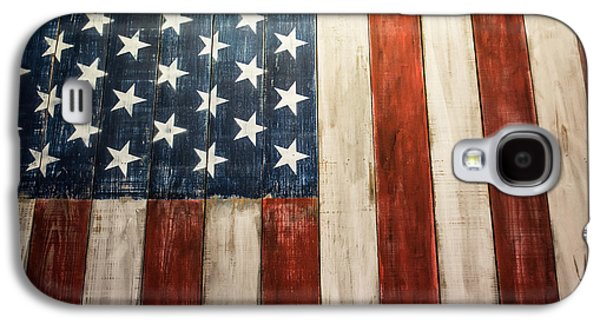 4th July Galaxy S4 Cases - American Pride Galaxy S4 Case by Shelby  Young