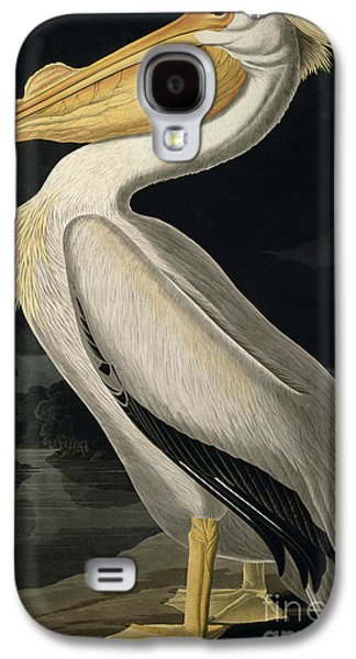 American White Pelican Galaxy S4 Case by John James Audubon