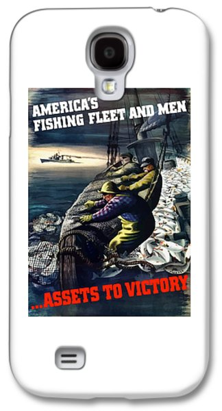 Commercial Galaxy S4 Cases - Americas Fishing Fleet And Men  Galaxy S4 Case by War Is Hell Store