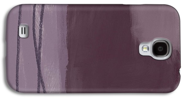Amethyst 3- Abstract Art By Linda Woods Galaxy S4 Case by Linda Woods