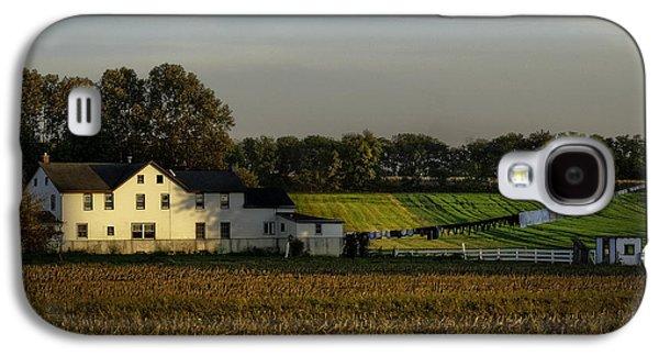 Amish Photographs Galaxy S4 Cases - Amish Sunrise Galaxy S4 Case by TAPS Photography