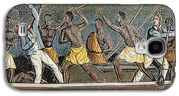 Slaves Galaxy S4 Cases - Amistad Slave Mutiny, 1839 Galaxy S4 Case by Granger