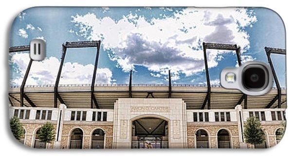 Landmarks Photographs Galaxy S4 Cases - Amon Carter Stadium - TCU Galaxy S4 Case by Stephen Stookey