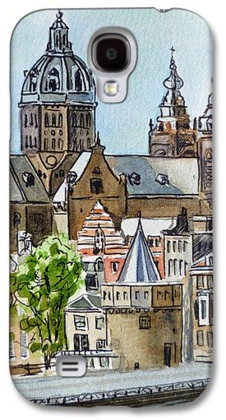 Amsterdam Holland Galaxy S4 Case by Irina Sztukowski