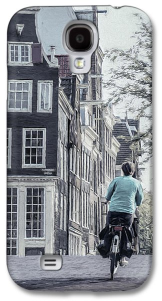 Transportation Photographs Galaxy S4 Cases - Amsterdam Icon Galaxy S4 Case by Joan Carroll