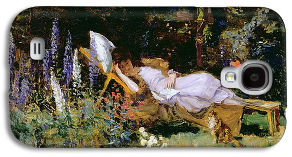 An Afternoon Nap Galaxy S4 Case by Harry Mitten Wilson