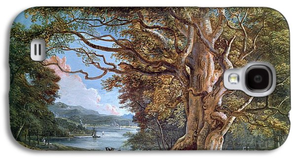 An Ancient Beech Tree Galaxy S4 Case by Paul Sandby