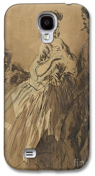 Gallant Conversation Galaxy S4 Case by Celestial Images