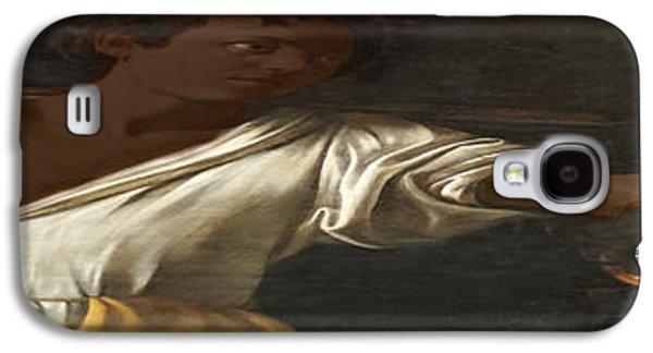 Caravaggio Galaxy S4 Cases - Ancient Human Instinct Galaxy S4 Case by David Bridburg