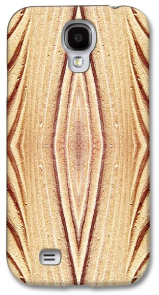 Abstract Digital Digital Art Galaxy S4 Cases - Ancient Lines 12 Galaxy S4 Case by Sarah Loft
