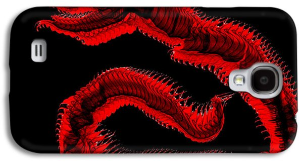 Ancient Serpent Symbol Galaxy S4 Case by Abstract Angel Artist Stephen K