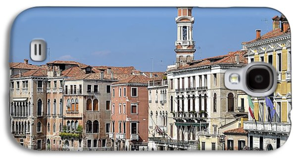 People Glass Galaxy S4 Cases - Ancient typical buildings of Venice. Galaxy S4 Case by Giuseppe Elio Cammarata