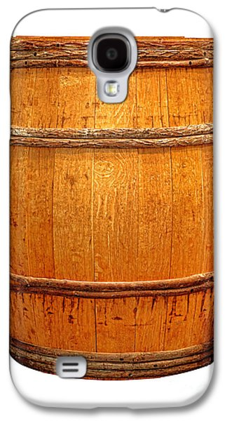 Whisky Galaxy S4 Cases - Ancient Whisky Barrel Galaxy S4 Case by Olivier Le Queinec