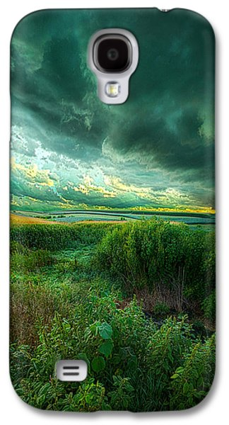 Hope Photographs Galaxy S4 Cases - And For A Moment It Was Silent Galaxy S4 Case by Phil Koch