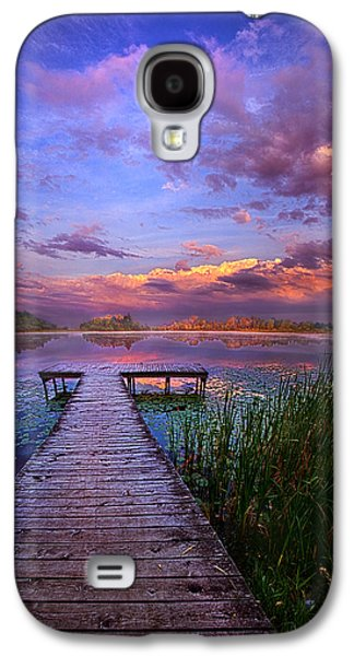 Hope Photographs Galaxy S4 Cases - And Silence Galaxy S4 Case by Phil Koch