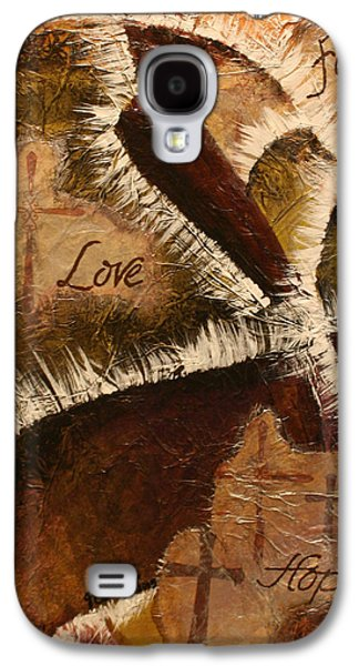 Religious Galaxy S4 Cases - ...and the Greatest of These Is Love Galaxy S4 Case by Jessica Bench