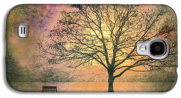 Trees Photographs Galaxy S4 Cases - And the Morning is Perfect in all Her Measured Wrinkles Galaxy S4 Case by Tara Turner